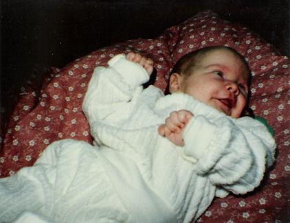 Isabella bli'r født
